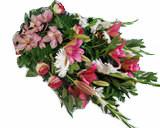 Ramo de Funeral Rosa